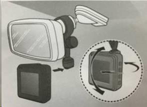 Držák na zpětné zrcátko pro MIO MiVue řady Cxx, 7xx