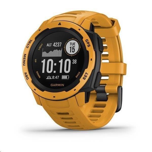 Garmin GPS sportovní hodinky Instinct Yellow Optic