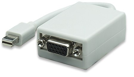 MANHATTAN adaptér Mini DisplayPort Male to VGA Female, Active