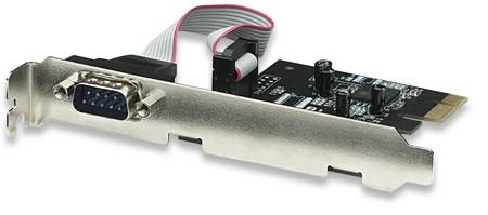 MANHATTAN Serial PCI Express Card, One port, x1 lane (158152)