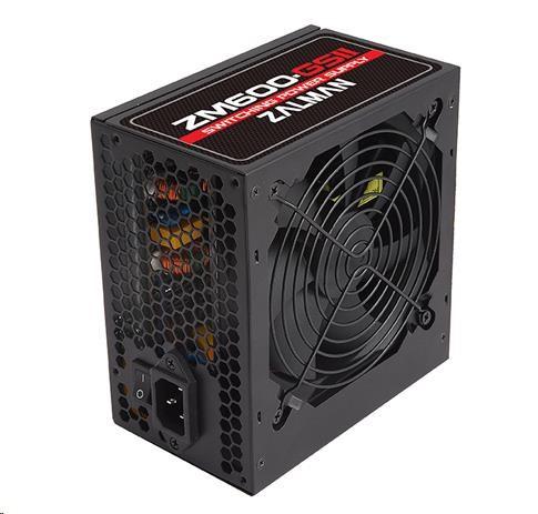 Zdroj Zalman ZM600-GSII 600W 80+ ATX12V 2.3 aPFC 12cm fan
