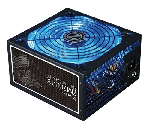 Zdroj Zalman ZM700-TX 700W 80+ ATX12V 2.3 aPFC 14cm fan, ErP 2013
