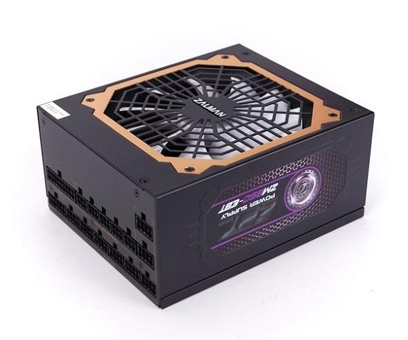 Zdroj Zalman ZM850-EBT 850W 80+ Gold ATX12V 2.3, EPS, aPFC 13,5cm fan, modular