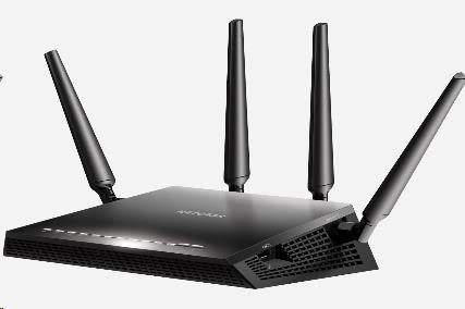 Netgear R7800 Nighthawk X4S Smart WiFi Router, Wireless AC2600, 4x gigabit RJ45, 2x USB3.0 (R7800-100PES)