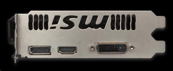 MSI VGA nVidia GeForce GTX 1050 Ti AERO ITX 4G OCV1