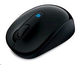 Microsoft myš L2 Sculpt Mobile Mouse BlueTrack Black (43U-00004)