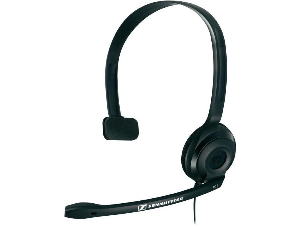 SENNHEISER PC 2 CHAT black (černý) headset - jednostranné sluchátko s mikrofonem (504194)