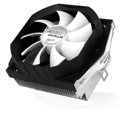 ARCTIC COOLING Alpine 64 Plus chladič CPU - 92mm (AMD FM2+, FM1, AM3+, AM3, AM2+, AM2, 939, do 100W