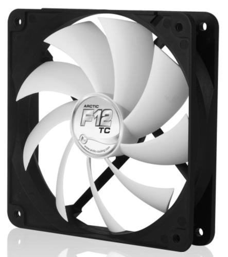 ARCTIC COOLING F12 TC ventilátor - 120mm (AFACO-120T0-GBA01)