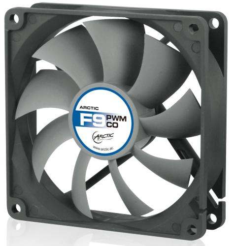 ARCTIC COOLING F9 PWM CO ventilátor - 92mm (AFACO-090PC-GBA01)
