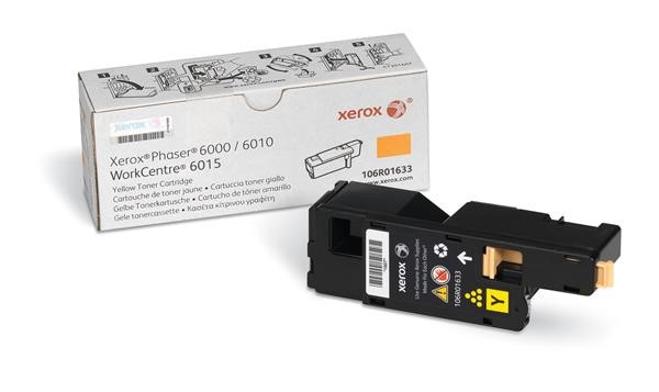 Xerox Toner Yellow pro Phaser 6000/6010 a WorkCentre 6015 (1.000 str) (106R01633)