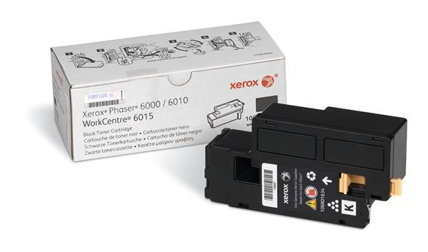 Xerox Toner Black pro Phaser 6000/6010 a WorkCentre 6015 (2.000 str) (106R01634)