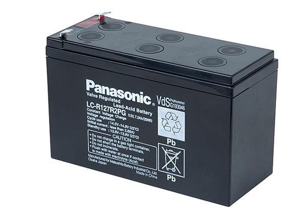 Baterie - Panasonic LC-R127R2PG1 (12V/7,2Ah - Faston 250)