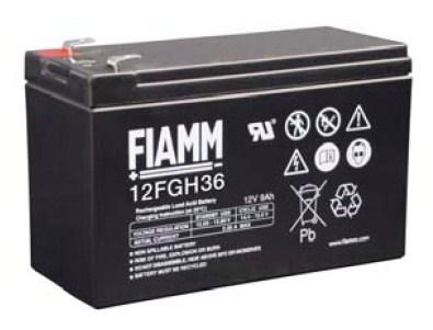 Baterie - Fiamm 12 FGH 36 (12V/9,0Ah - Faston 250) (09642)