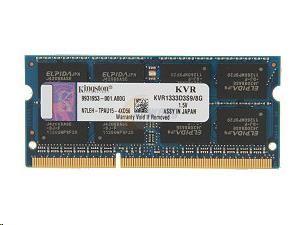SODIMM DDR3 8GB 1333MHz CL9, KINGSTON ValueRAM (KVR1333D3S9/8G)