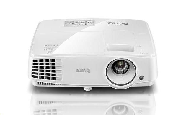 BENQ Dataprojektor MW533 DLP; WXGA; 3300 ANSI, HDMI, speak (9H.JG877.33E)