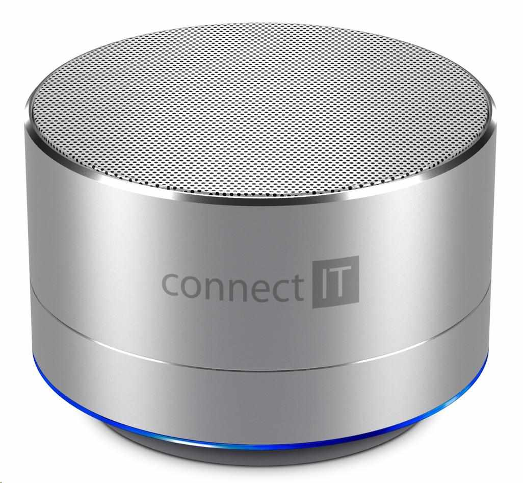 CONNECT IT Bluetooth reproduktor BOOM BOX BS500SL, silver