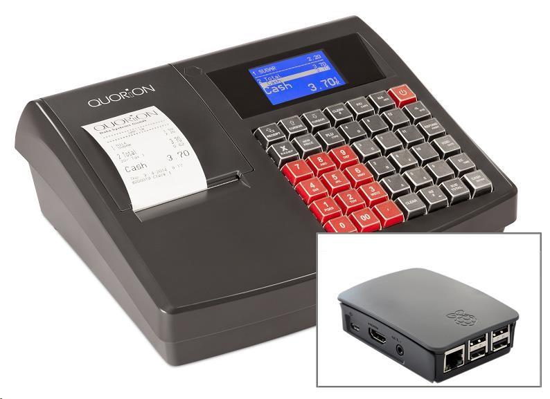 Quorion registrační pokladna QMP 18 2xRS/USB + EET Box (QPO.151900181)