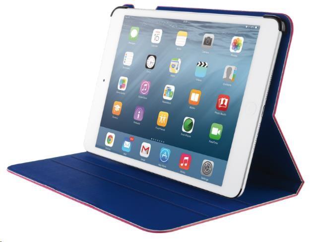 TRUST Pouzdro Aeroo Ultrathin Folio Stand for iPad Air 2 - růžová/modrá