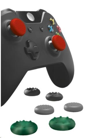 TRUST Opěrky pro palce na ovladače XBOX ONE - Thumb grips 8-Pack for XBOX ONE controllers (20815)