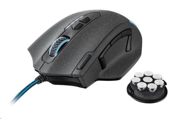 TRUST Myš GXT 155 Gaming Mouse USB - černá (20411)