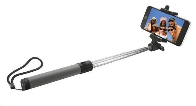 TRUST Bezdrátová tyčka na autoportréty Bluetooth Foldable Selfie Stick - černá