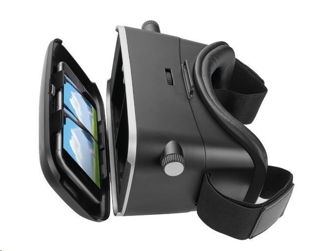 TRUST Brýle pro virtuální realitu Exos 3D Virtual Reality Glasses for smartphone (21179)