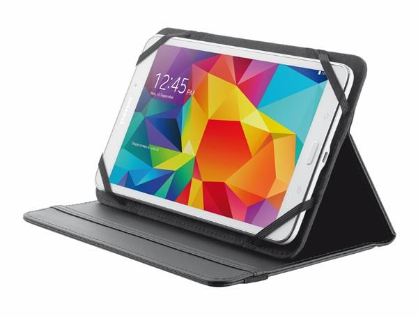 "TRUST Pouzdro na tablet 7-8"" Primo Folio Stand for tablets - black (20057)"