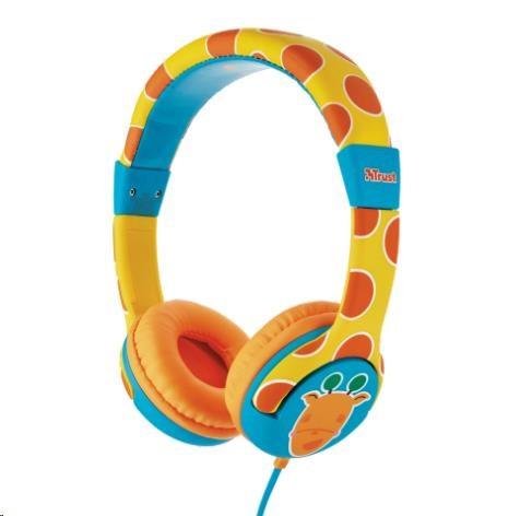 Trust Spila Kids Headphone - giraffe (20952)