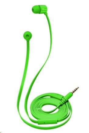 TRUST Duga In-Ear Headphones - neon green