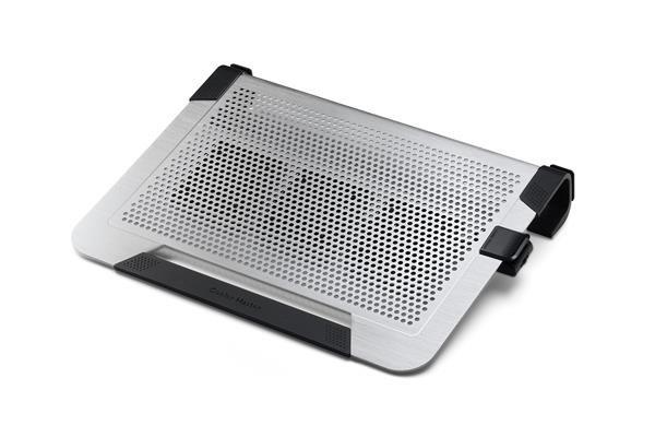 "chladicí ALU podstavec Cooler Master NotePal U3 PLUS pro NTB 15-19"" silver, 3x8cm fan (R9-NBC-U3PS-"