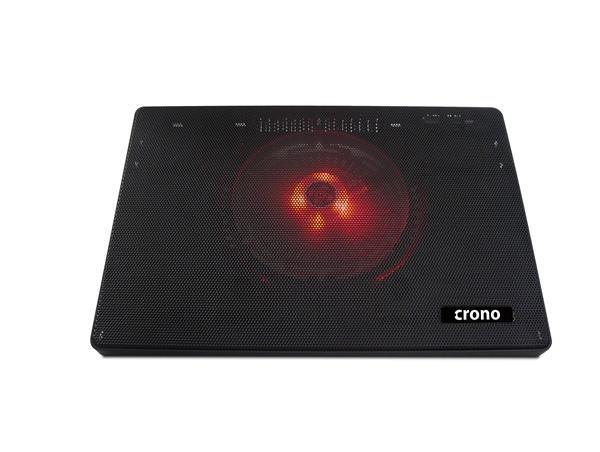 """CRONO aktivní chladicí podložka pod notebook CB157 do 15.6"""", červené LED podsvícení (CB00157)"""