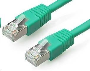 GEMBIRD Patch kabel CAT6 stíněný FTP 2m, zelený (PP6-2M/G)