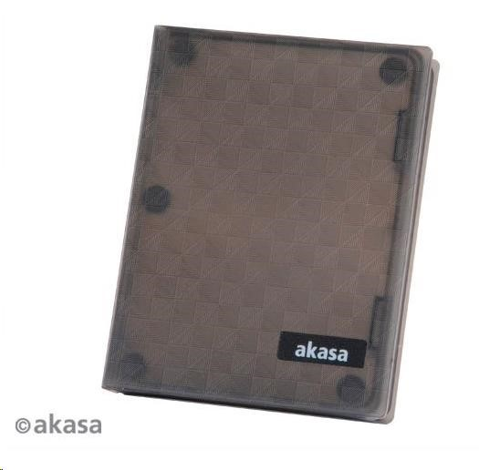 "AKASA HDD box Flexstor H25, podpora 2,5"" HDD, Quick connect, silikonový (AK-HPC01-BK)"