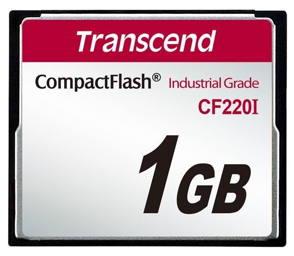 TRANSCEND Industrial Compact Flash Card CF220I 1GB, SLC (UDMA5) (TS1GCF220I)