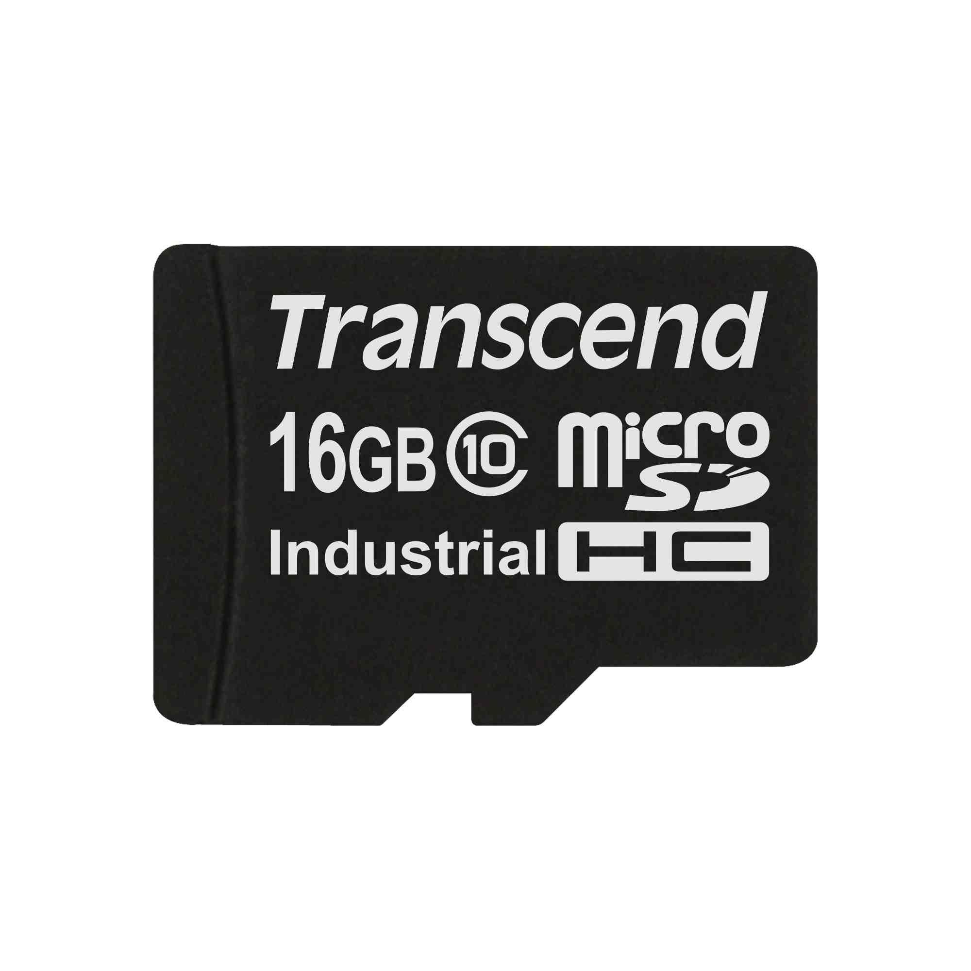 TRANSCEND Industrial Micro SDHC 10I Card 16GB (bez adaptéru)