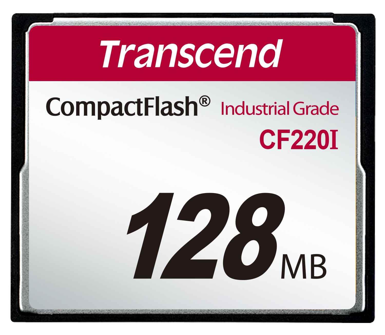 TRANSCEND Industrial Compact Flash Card CF220I 128MB, SLC (UDMA5)