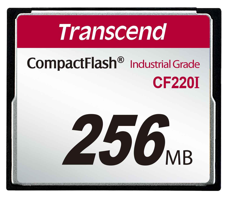 TRANSCEND Industrial Compact Flash Card CF220I 256MB, SLC (UDMA5) (TS256MCF220I)