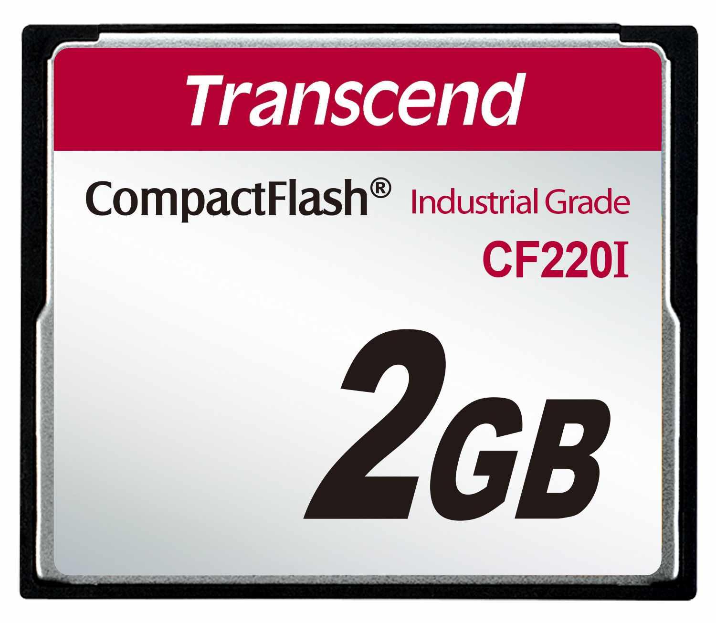 TRANSCEND Industrial Compact Flash Card CF220I 2GB, SLC (UDMA5) (TS2GCF220I)