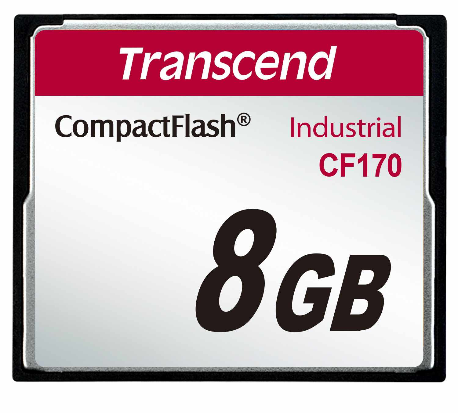 TRANSCEND Industrial Compact Flash Card CF170, 8GB, MLC