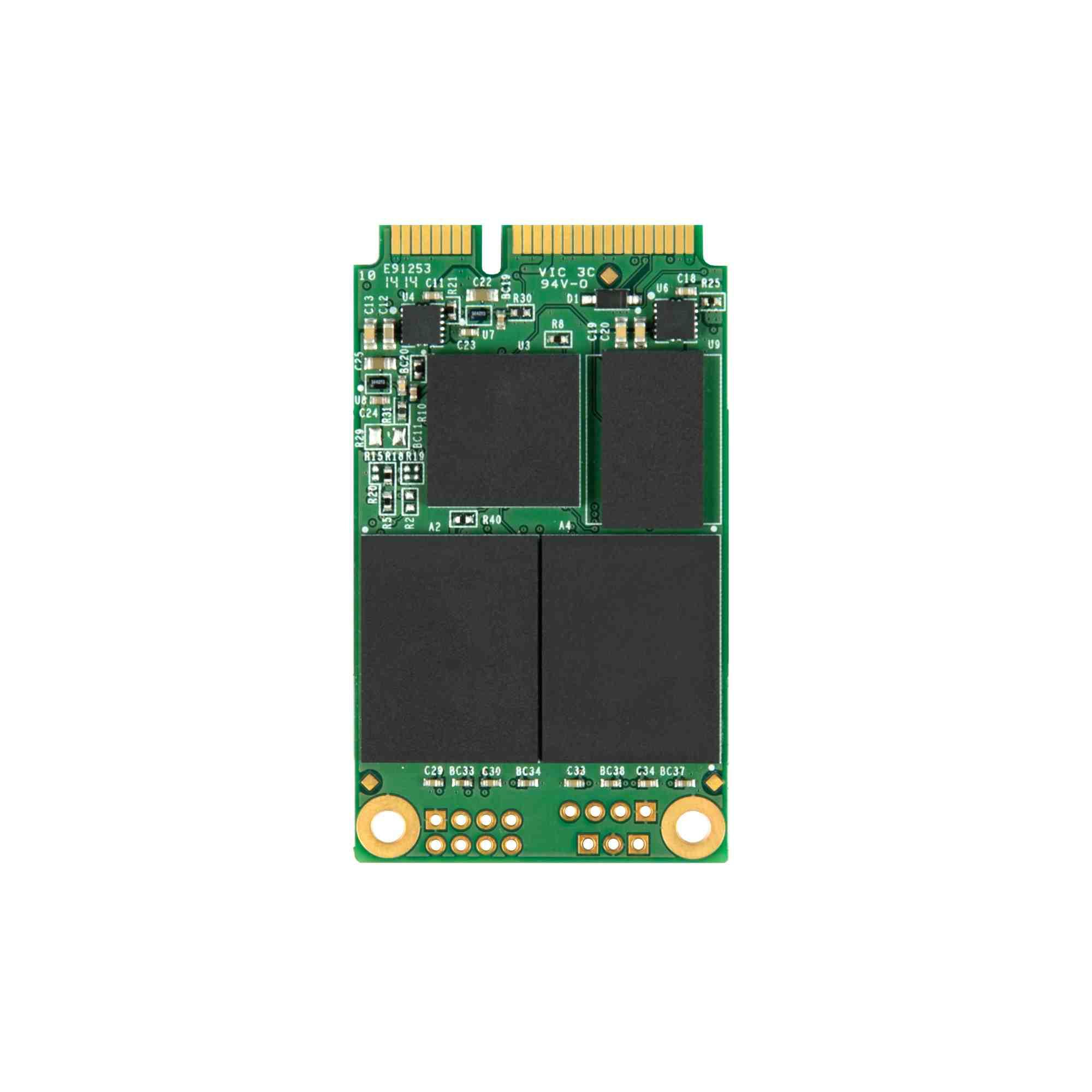 TRANSCEND Industrial SSD MSA370I, 32GB, SATA III 6G mSATA, MLC