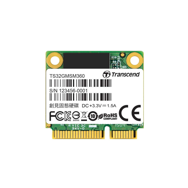 TRANSCEND Industrial SSD MSM360, 32GB, SATA III 6G mSATA, MLC (TS32GMSM360)