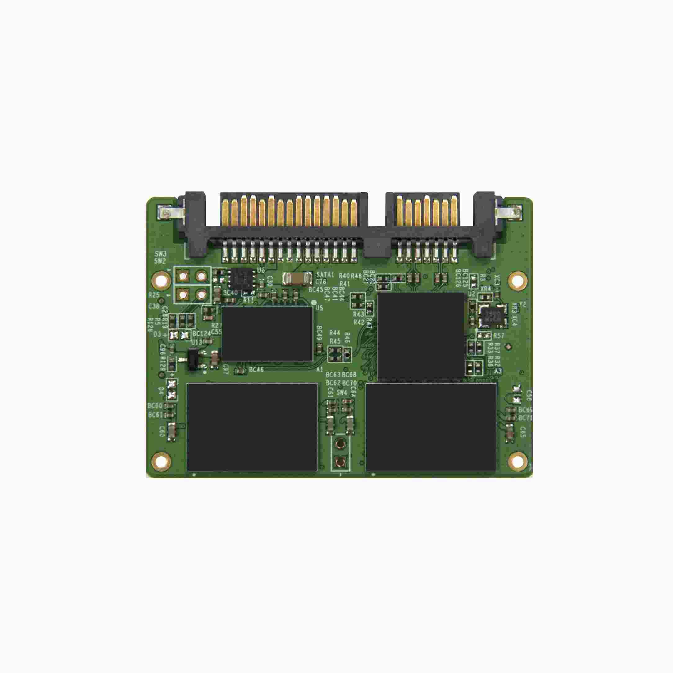 TRANSCEND Industrial Half-Slim SSD HSD630, 8GB, SATA II, Toggle MLC (TS8GHSD630)