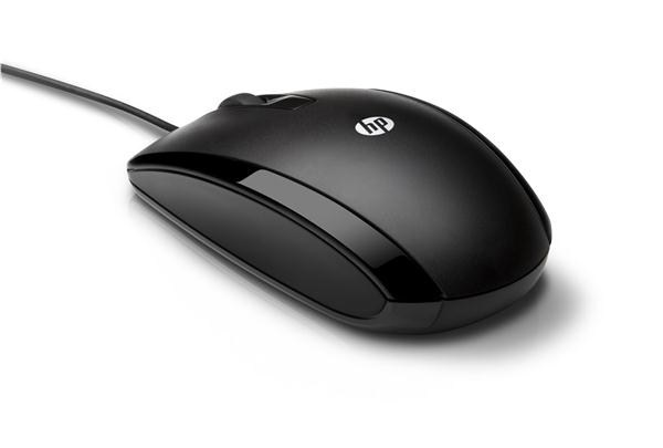 HP X500 Wired Mouse - MOUSE (E5E76AA#ABB)