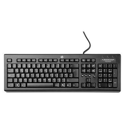 HP Classic Wired Keyboard - KEYBOARD - německá (WZ972AA#ABD)