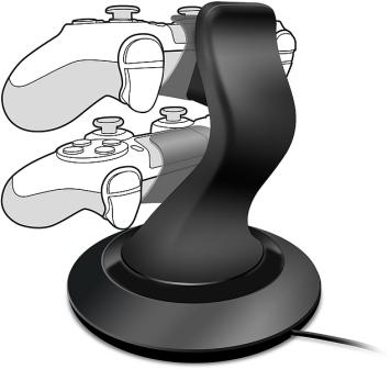 SPEED LINK nabíjecí stanice TWINDOCK Charging System - for PS4, black (SL-4511-BK)