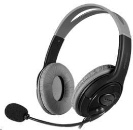 SPEED LINK sluchátka LUTA Stereo Headset, black (SL-870004-BK)