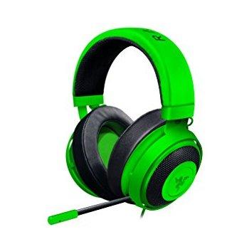RAZER sluchátka s mikrofonem KRAKEN PRO V2 Oval Green Analog Gaming Headset (RZ04-02050600-R3M1)