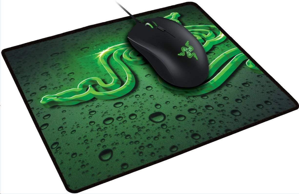 RAZER herní set myš a podložka ABYSSUS 2000 + Goliathus SMALL Speed Terra Mat Bundle