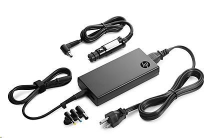 HP 90W Slim Combo (Auto) Adapter w/ USB (H6Y84AA#ABB)